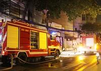 Cháy khách sạn, 5 người nhập viện