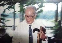 GS Vũ Đình Hòe và 'Gương mặt những người cùng thế hệ'