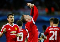 Hat-trick của Rooney