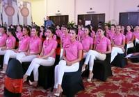 Cận cảnh các người đẹp 'Hoa hậu Hoàn vũ VN 2015'