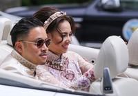 Victor Vũ mặc áo dài đi hỏi cưới Đinh Ngọc Diệp