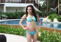 Lệ Quyên tự tin diễn bikini trên đất Thái