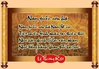 Những bản dịch bài thơ 'Nam quốc sơn hà'