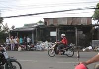Cháy kho phế liệu, thiệt hại hàng trăm triệu đồng