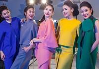 Hậu trường chụp ảnh của các hoa hậu Việt