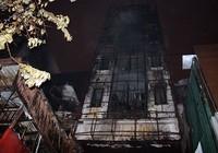 Cháy lớn thiêu rụi hai ngôi nhà trong đêm