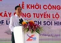 Thủ tướng phát lệnh khởi công Dự án tuyến Lộ Tẻ - Rạch Sỏi