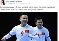 Đặng Thu Thảo, Lan Khuê vỡ òa cảm xúc giấc mơ World Cup