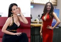 Những người đẹp Việt 'nghiện' váy khoe ngực