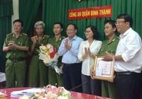Lãnh đạo TP.HCM khen thưởng nóng Công an quận Bình Thạnh