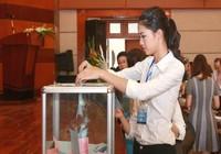 Á hậu Thanh Tú - thành viên Hội Luật quốc tế Việt Nam