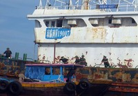 Làm rõ con tàu Trung Quốc bí ẩn trôi trên biển