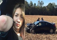 Những sao Việt suýt chết vì tai nạn xe hơi