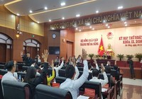Ông Nguyễn Xuân Anh bị bãi nhiệm chức chủ tịch HĐND