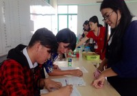 Bắt đầu nộp hồ sơ đăng ký dự thi THPT quốc gia từ 1-4