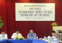 Hội thảo 30 năm phát triển văn học TP.HCM