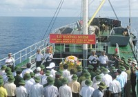 Tưởng niệm 64 liệt sĩ hy sinh tại Trường Sa