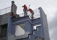 Vĩnh Lộc A tiếp tục cưỡng chế 21 căn nhà