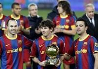 9 cầu thủ Barca được đề cử Quả bóng Vàng 2011