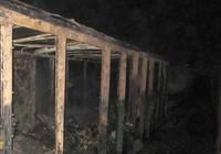 Người điên đốt cháy trụi một toa tàu hỏa