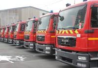 Tiếp nhận 15 xe chữa cháy hiện đại