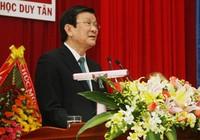 """Chủ tịch nước Trương Tấn Sang: """"Hãy giữ vững niềm tin…"""""""