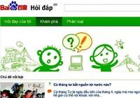 Những hiểm họa từ mạng Baidu