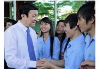Chủ tịch nước chúc Tết công nhân tại Đồng Nai