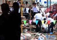 Thang máy rơi từ tầng 30, 19 người chết