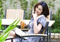 Tăng Thanh Hà khoe lưng trần