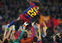 Những hình ảnh đáng chú ý của trận Barca-Real