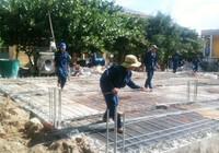 Ráo riết xây trường cho học sinh Trường Sa