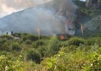 Cháy gần 50 ha rừng do mìn nổ
