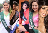 Hoa hậu Trái đất 2010: Những ứng viên sáng giá