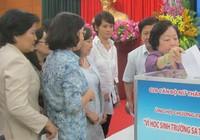 CLB cán bộ nữ góp tiền xây trường ở Trường Sa