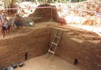 Dấu tích vương triều Champa ở Cấm Mít