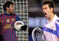 VĐV xuất sắc nhất 2011: Messi đầu hàng Novak Djokovic