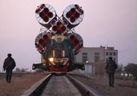 Cảnh sát không gian ở sân bay vũ trụ Nga Baikonur