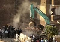 Sập nhà tại Ai Cập
