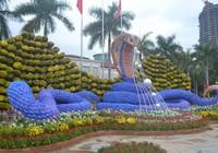 Đà Nẵng: Độc đáo đường hoa Bạch Đằng