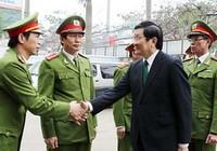 Chủ tịch nước chúc Tết lực lượng an ninh, cảnh sát