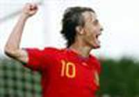 Pha phối hợp đá phạt tinh quái của U-19 Tây Ban Nha