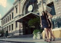 Hoa hậu Nga 2010 chụp ảnh quảng cáo tại Việt Nam