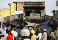 Cháy tiệm sửa xe, một người chết