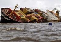 Tàu đụng nhau ở Ấn Độ
