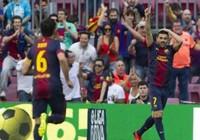 Thắng đậm Malaga, Barcelona kết thúc mùa giải với 100 điểm