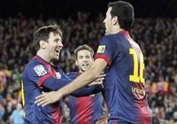 La Liga làm nền cho siêu kỷ lục gia Messi