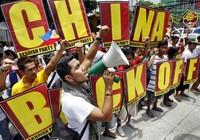 Philippines biểu tình chống Trung Quốc