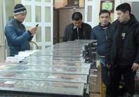 Phát hiện thuốc lá lậu trong kho hàng Ga Hà Nội
