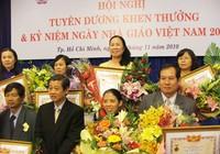 Tôn vinh 159 nhà giáo nhân dân, nhà giáo ưu tú